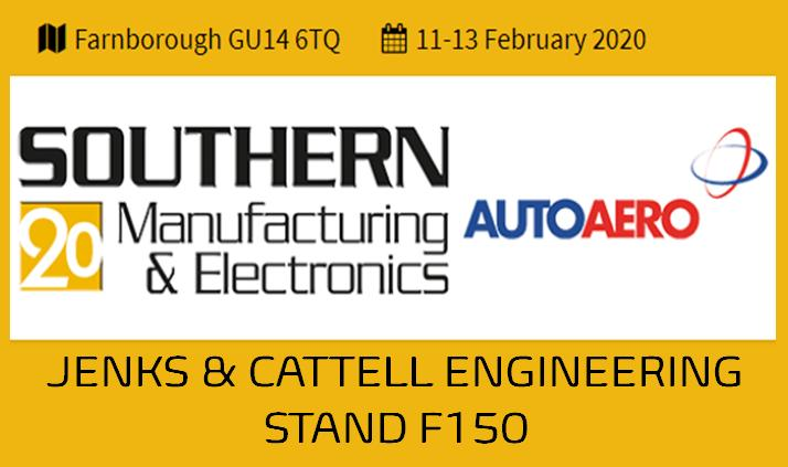 Jenks & Cattell Discuss Manufacturing Opportunities at Southern Manufacturing Next Month