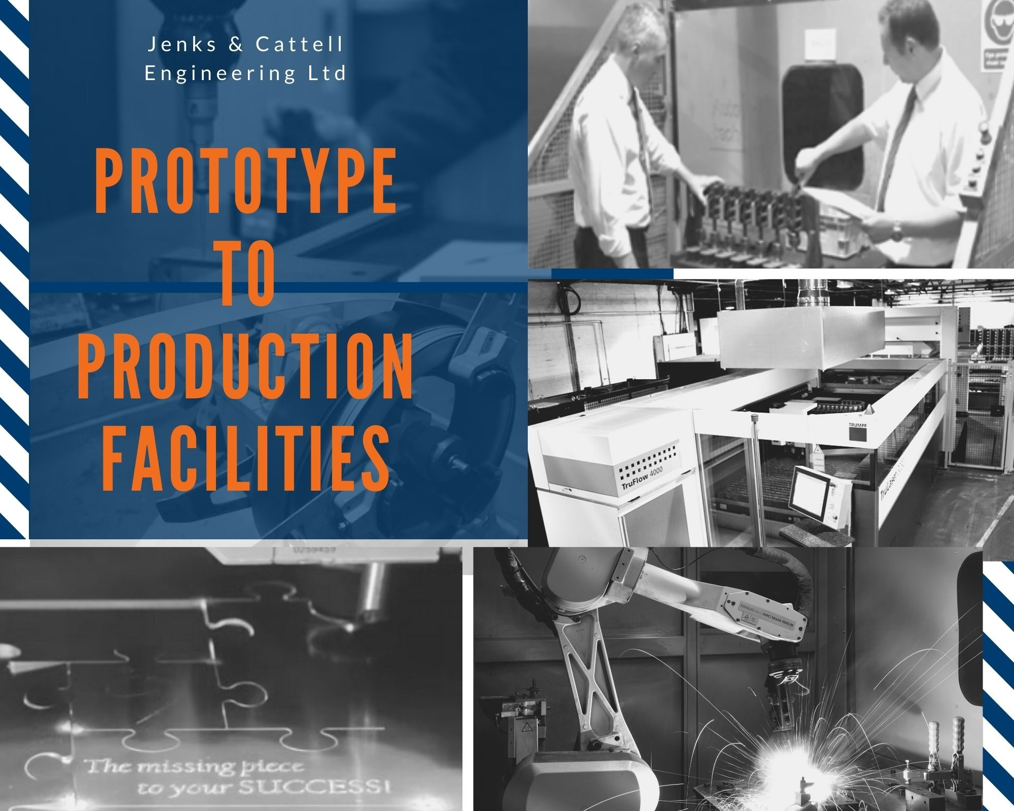 Jenks & Cattell Supporting Prototypes to Production Volumes