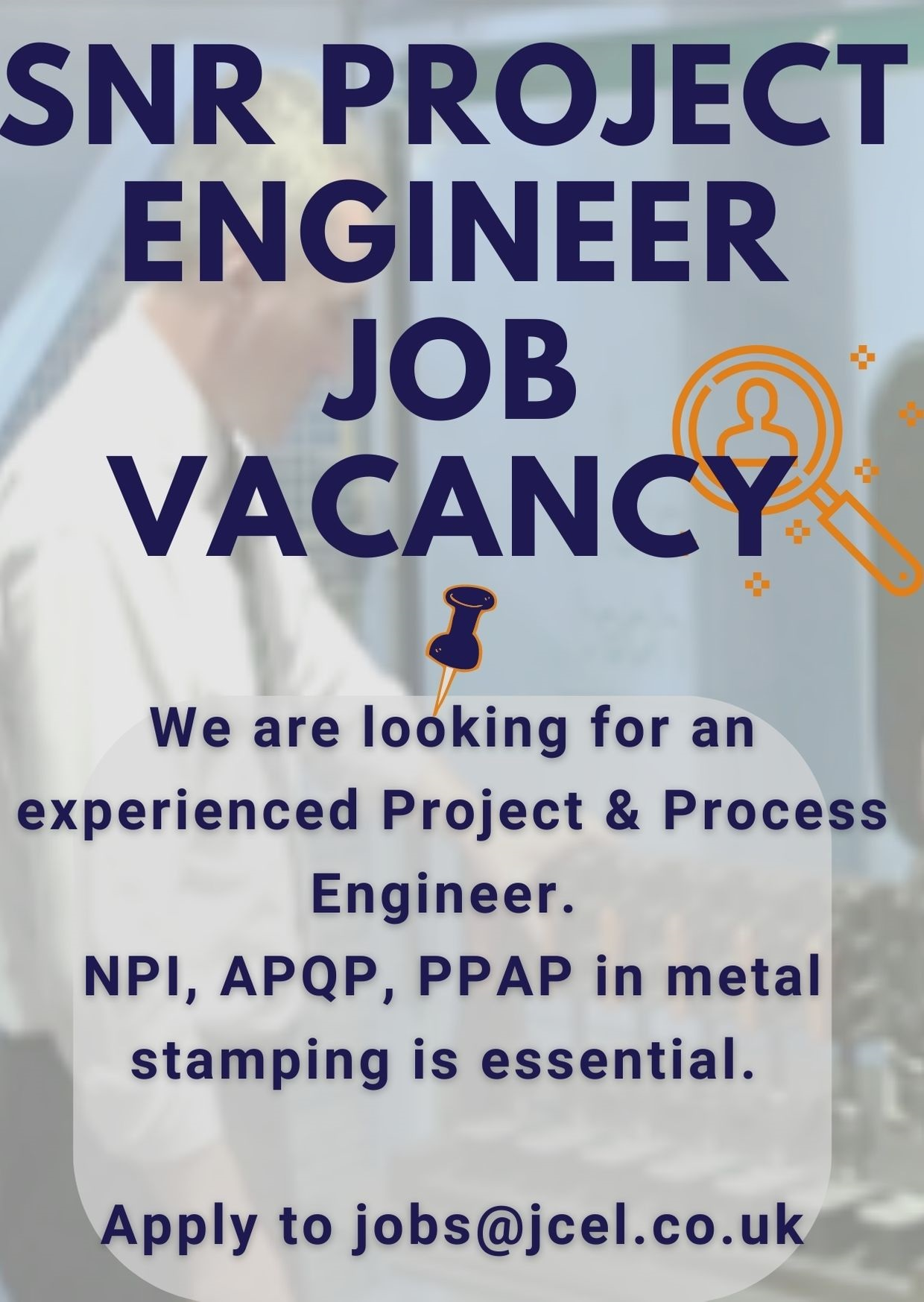 Jenks & Cattell Project Engineer Job Vacancy