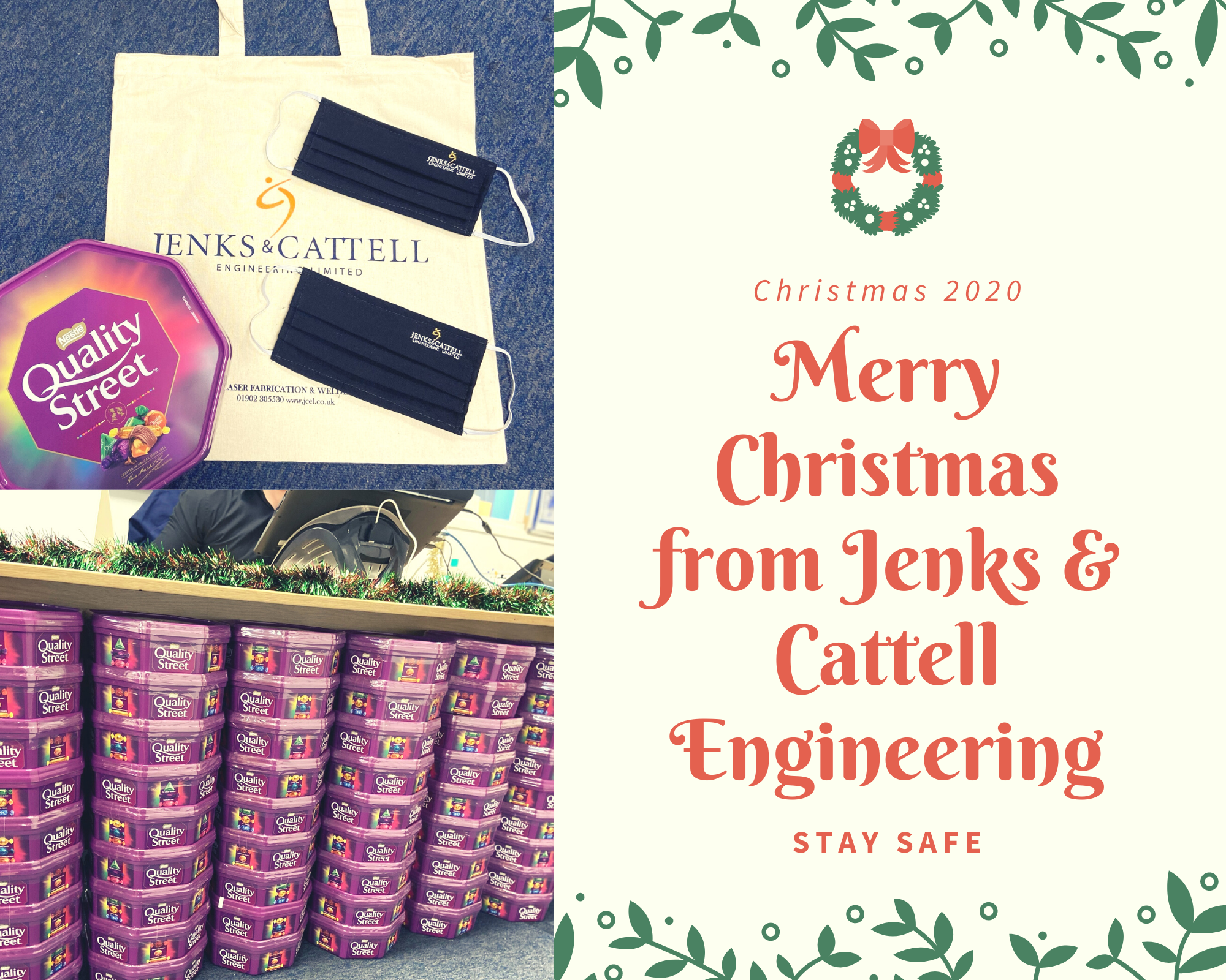 Jenks & Cattell Merry Christmas to Everyone