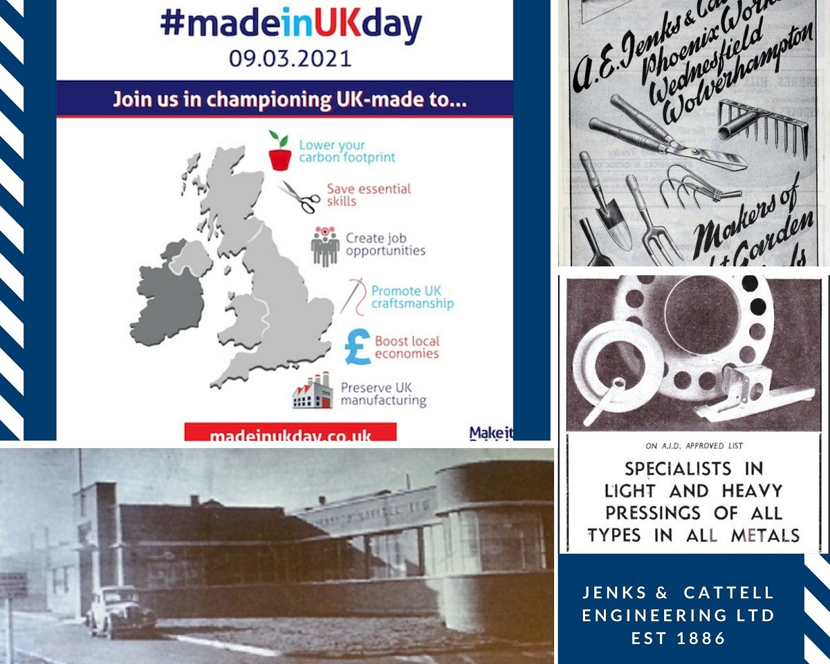 Jenks & Cattell Celebrating Our Manufacturing History for Made in UK Day