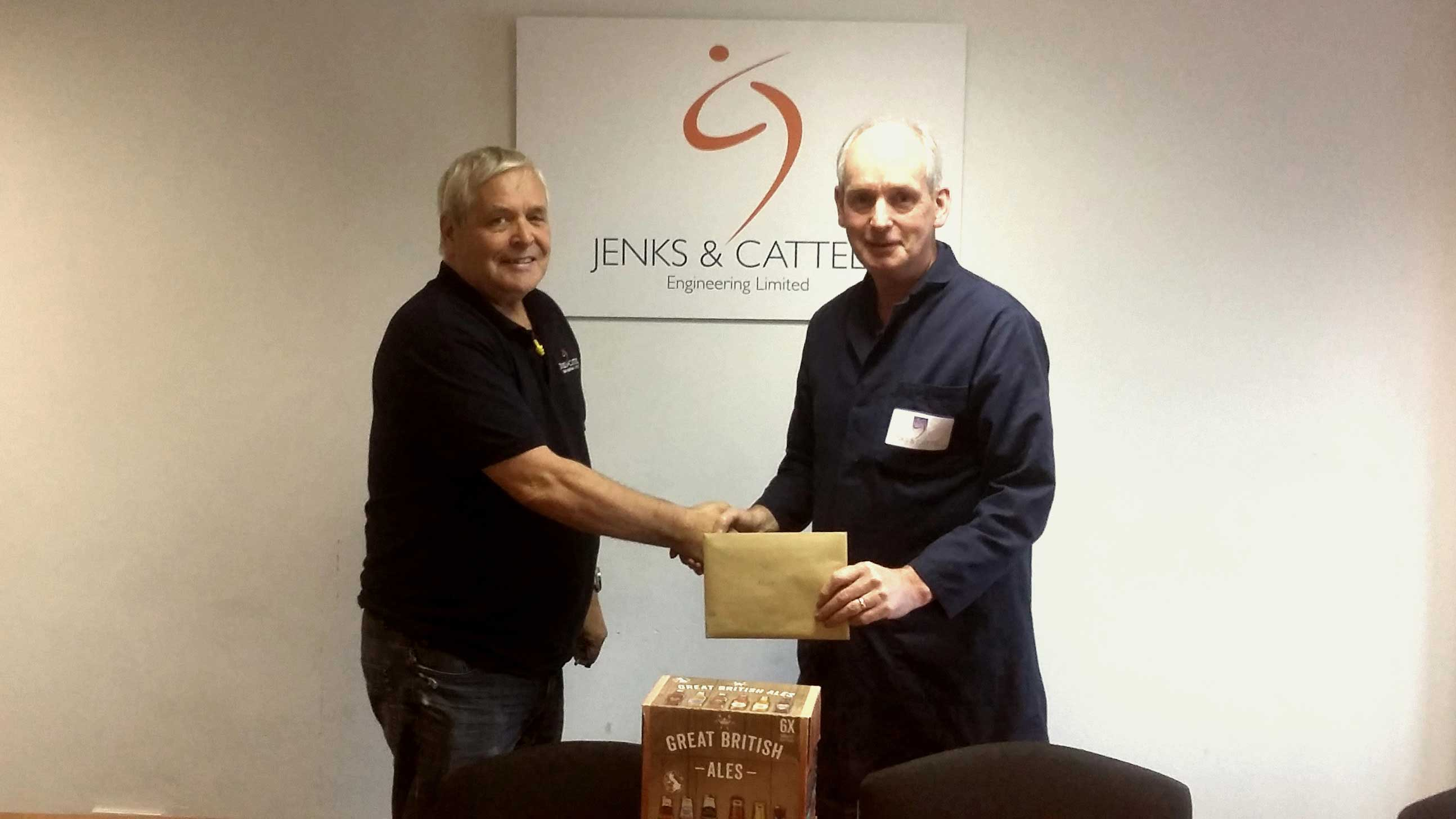 Jenks & Cattell Mick Celebrates 49 Years at Jenks & Cattell