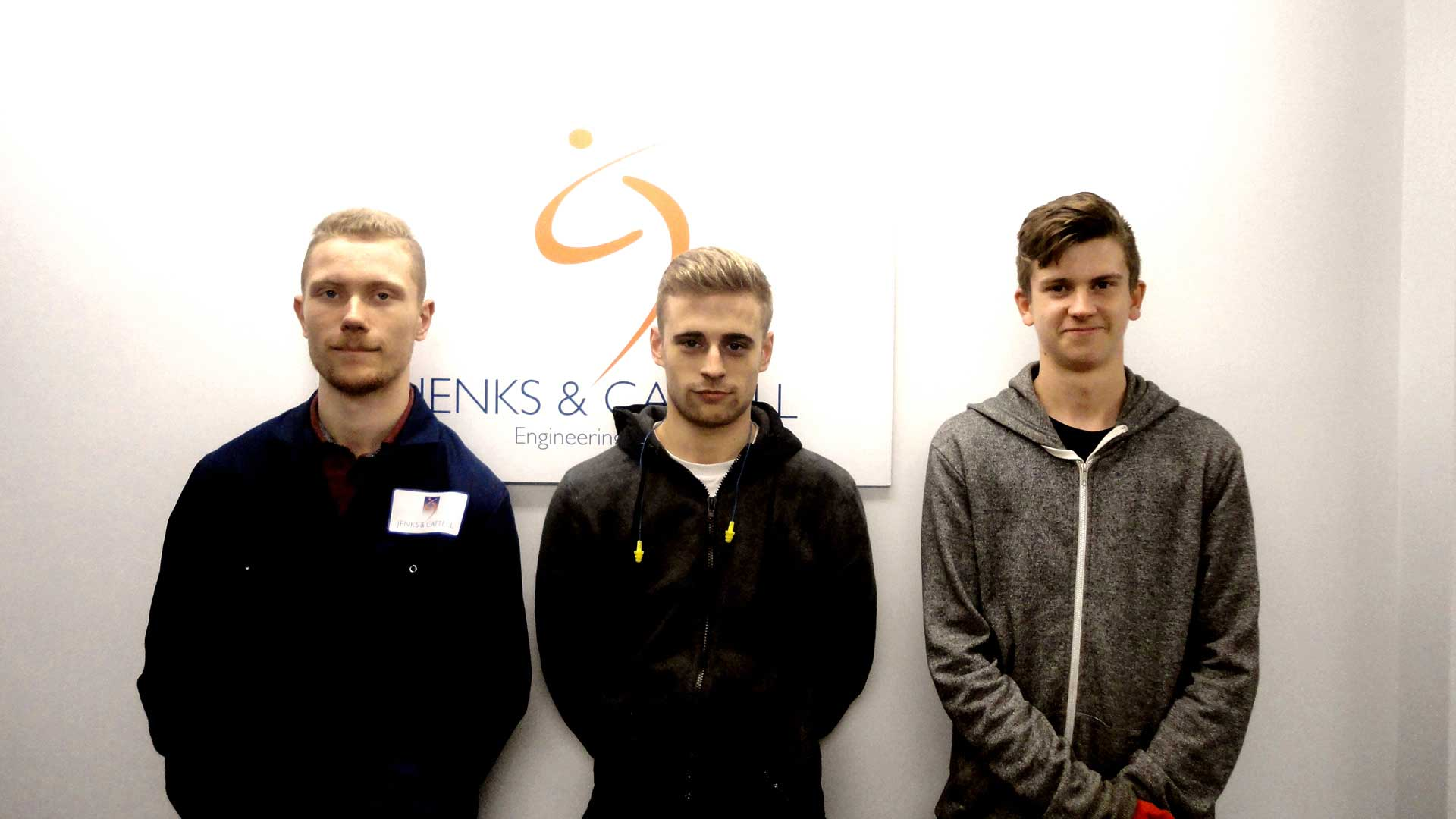 Jenks & Cattell Welcome Engineering Apprentices of 2017