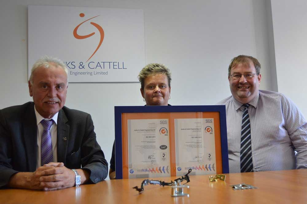 Jenks & Cattell ISO Accreditation Transition Complete